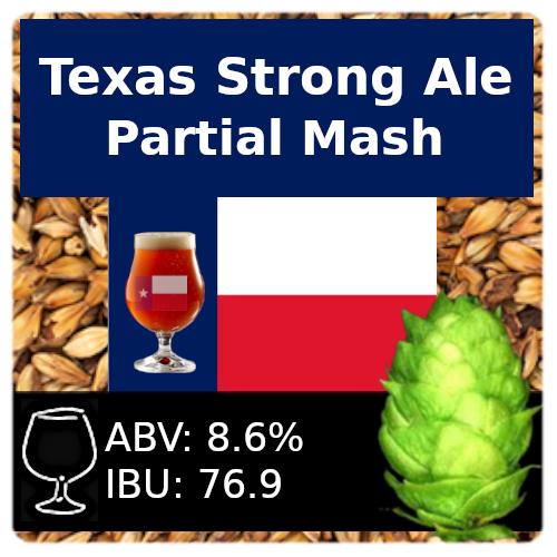 SoCo Texas Strong Ale Partial Mash Recipe Kit