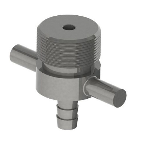Duplex Coupler – Hex Nut to Beer Line Cleaning Attachment