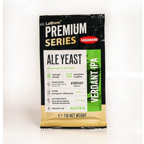 Lallemand Lalbrew Verdant IPA Dry Ale Yeast - 11 g