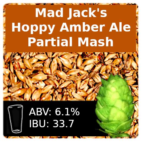 Mad Jack's Hoppy Amber Ale (AHA LTHD) - Partial Mash