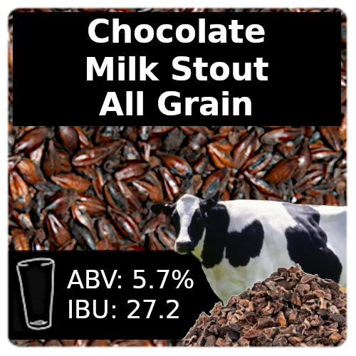 Chocolate Milk Stout - All Grain