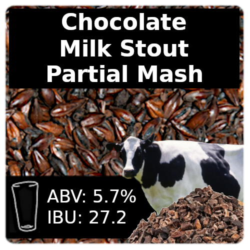 Chocolate Milk Stout - Partial Mash