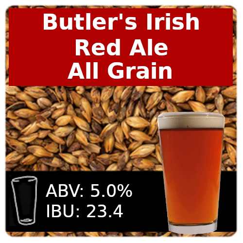 Butler's Irish Red Ale - All Grain