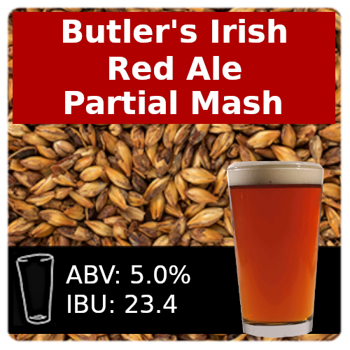 Butler's Irish Red Ale - Partial Mash