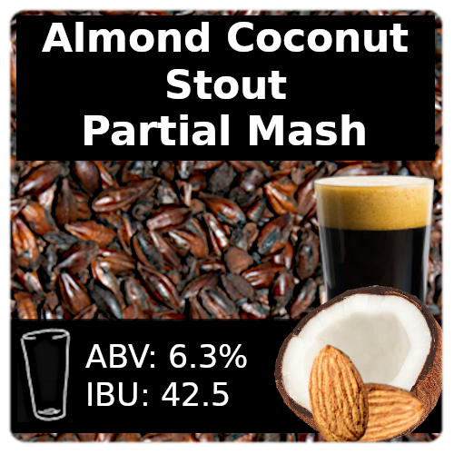 SoCo Almond Coconut Stout - Partial Mash