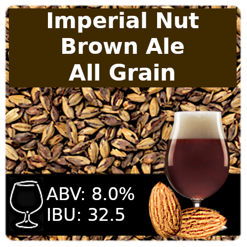 SoCo Imperial Nut Brown Ale - All Grain