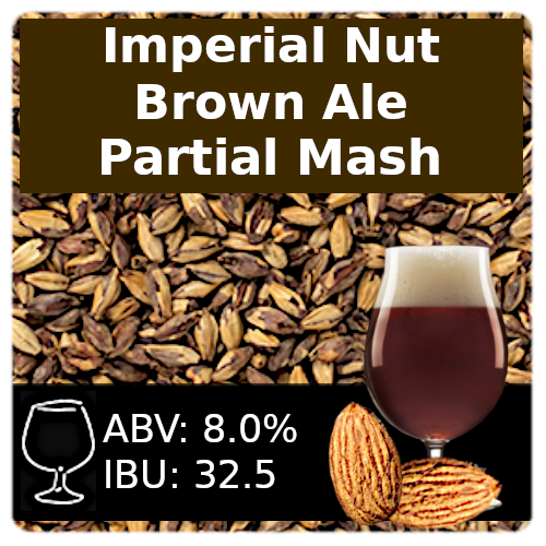 SoCo Imperial Nut Brown Ale - Partial Mash