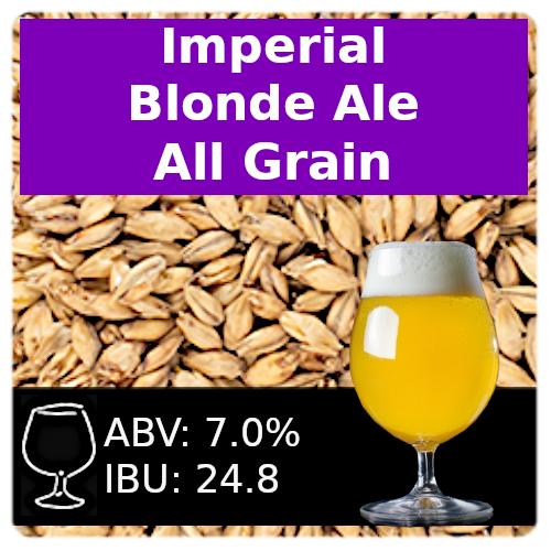 SoCo Imperial Blonde Ale - All Grain