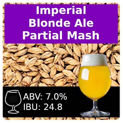 SoCo Imperial Blonde Ale - Partial Mash