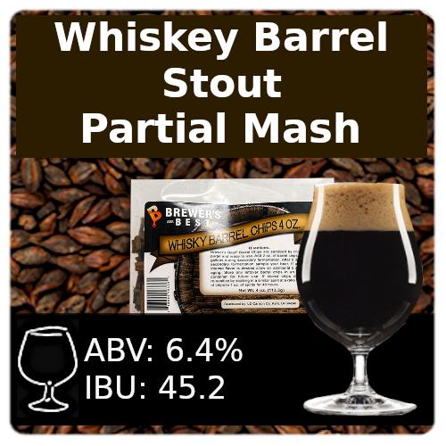 SoCo Whiskey Barrel Stout - Partial Mash