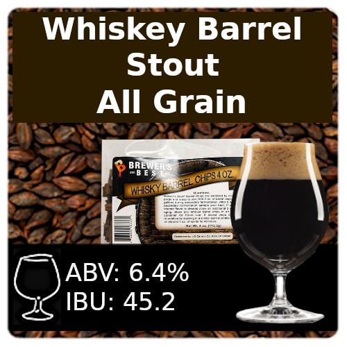 SoCo Whiskey Barrel Stout - All Grain