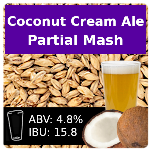 Coconut Cream Ale - Partial Mash