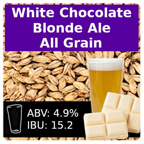 White Chocolate Blonde Ale - All Grain