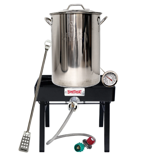 Homebrew Brewing Starter Kits with Burner & 8 Gallon Pot