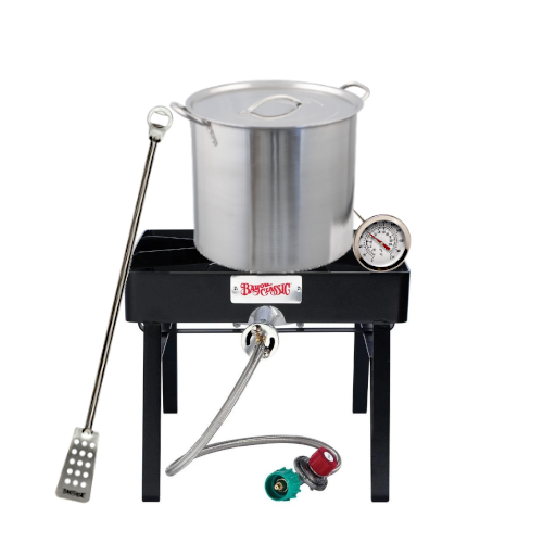 Homebrew Brewing Starter Kits with Burner & 5 Gallon Pot