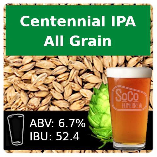 SoCo Centennial IPA - All Grain