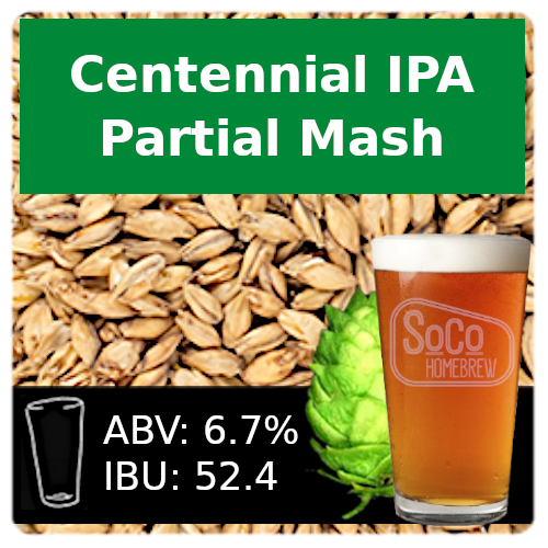 SoCo Centennial IPA - Partial Mash