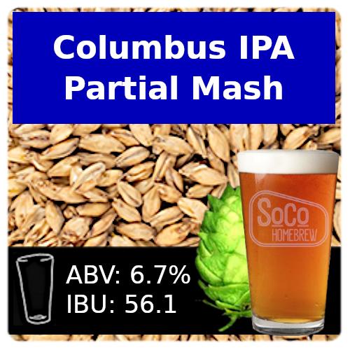 SoCo Columbus IPA - Partial Mash