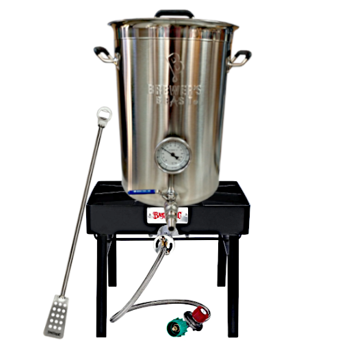 Brewer's Beast 8 Gallon Kettle & Burner Kit