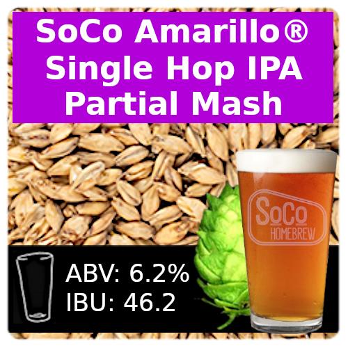 SoCo Amarillo® Single Hop IPA - Partial Mash