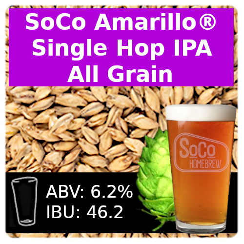 SoCo Amarillo® Single Hop IPA - All Grain