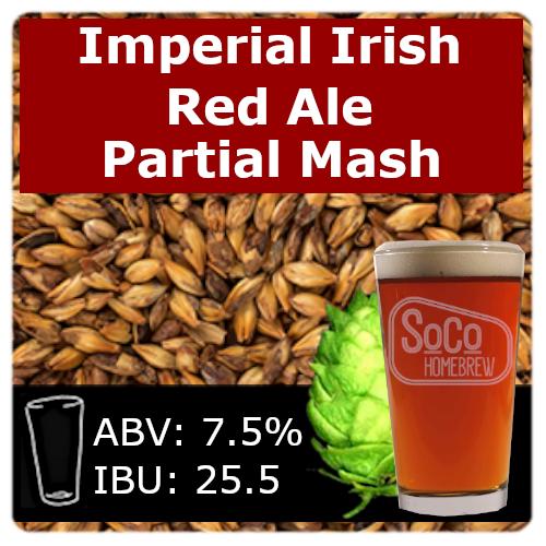 SoCo Imperial Irish Red Ale - Partial Mash