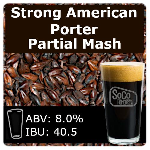 SoCo Strong American Porter - Partial Mash
