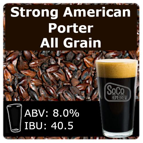 SoCo Strong American Porter - All Grain