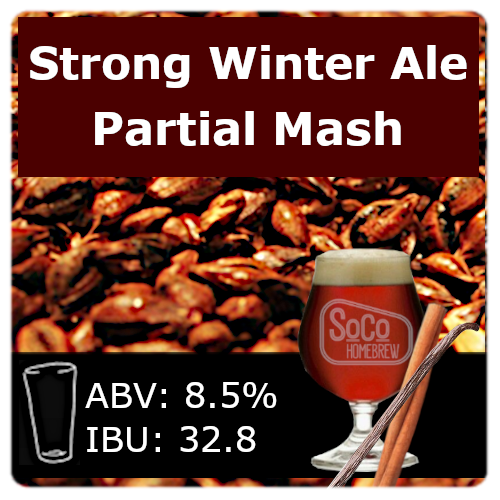 SoCo Strong Winter Ale - Partial Mash