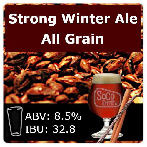 SoCo Strong Winter Ale - All Grain