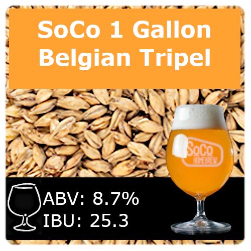 SoCo - Belgian Tripel - 1 Gallon