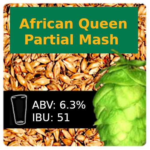 SoCo - African Queen IPA - Partial Mash (w/South African Hops)