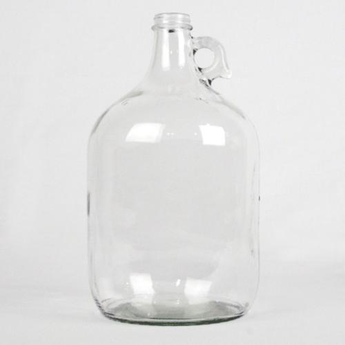 Clear 1 Gallon Glass Jug  - Case of 4
