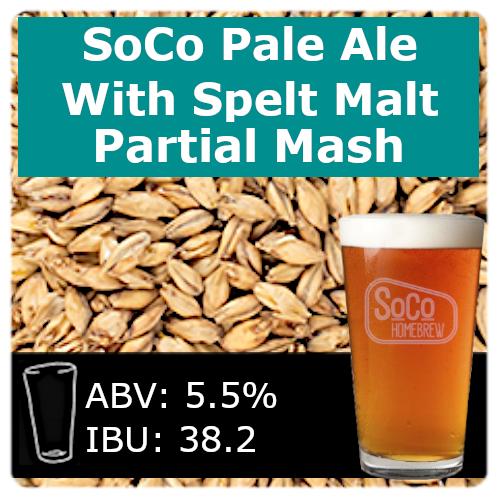 American Pale Ale with Spelt Malt - Partial Mash