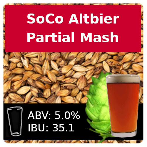 SoCo - Altbier - Partial Mash