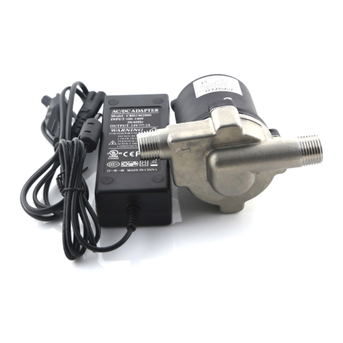 Wort Hog DC Pump With Stainless Steel Head