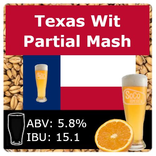 SoCo Texas Wit - Partial Mash