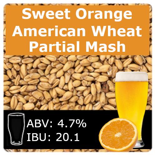 Sweet Orange Wheat Ale - Partial Mash
