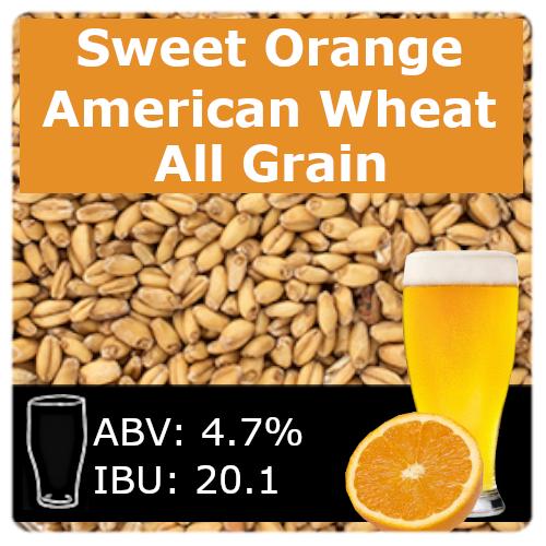 Sweet Orange Wheat Ale - All Grain