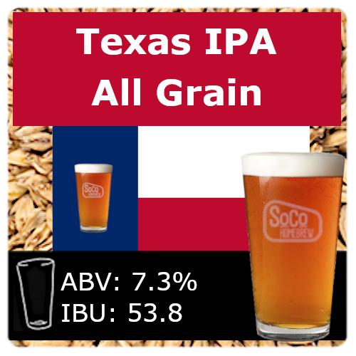 SoCo Texas IPA - All Grain