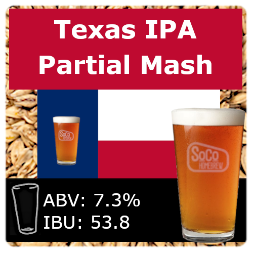 SoCo Texas IPA - Partial Mash
