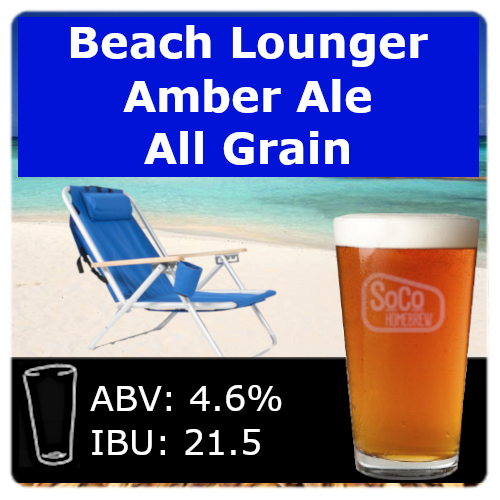 Beach Lounger Amber Ale - All Grain