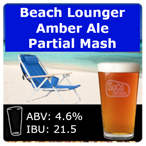 Beach Lounger Amber Ale - Partial Mash