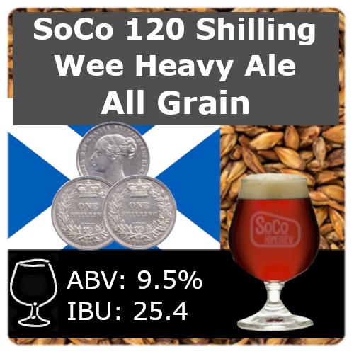 SoCo 120 Shilling Wee Heavy Ale - All Grain