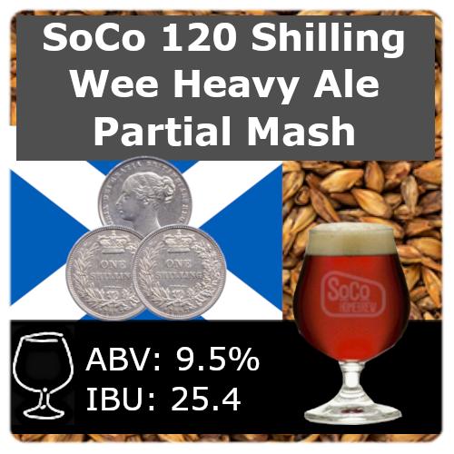 SoCo 120 Shilling Wee Heavy Ale - Partial Mash