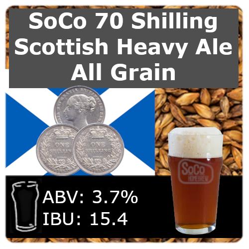 SoCo 70 Shilling Scottish Heavy Ale - All Grain