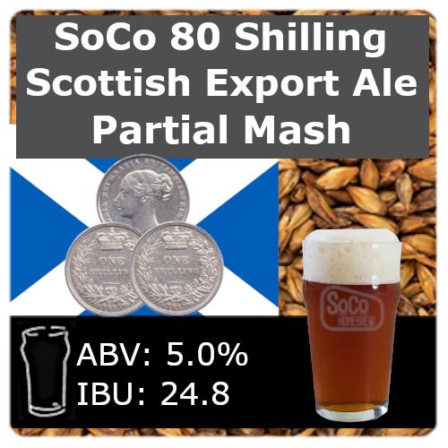 SoCo 80 Shilling Scottish Export Ale - Partial Mash