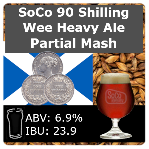 SoCo 90 Shilling Wee Heavy Ale - Partial Mash