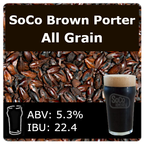 SoCo Brown Porter - All Grain