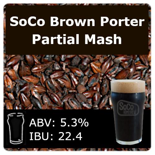 SoCo Brown Porter - Partial Mash